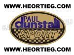 Paul Dunstall Sport Tank and Fairing Transfer Decal DDUN3-6